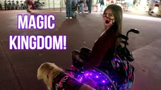 How I Do Disney: Wheelchair, SmartDrive & Service Dog! ♿🐾💪 (12/4/17)
