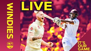 LIVE FULL Replay | Windies v England 1st Test Day 1 - FULL DAY | Windies