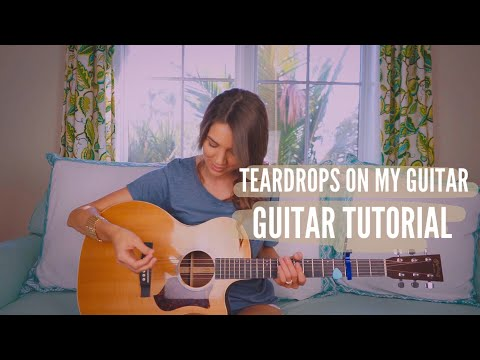 Guitar Chords with Strumming Patterns - Tear Drops On My Guitar ...