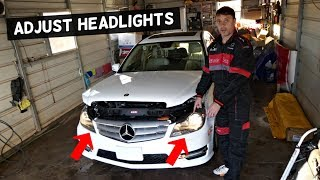 Download Mercedes W204 Low Beam Headlight Bulb Replacement