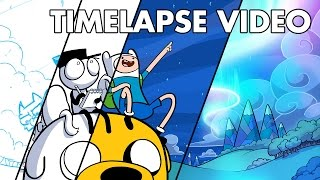 Loading Artist X Adventure Time - TIMELAPSE