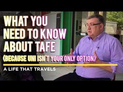 University Isn't Your Only Option (What TAFE is All About)