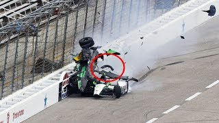 Best Crashes Of NASCAR (2019)