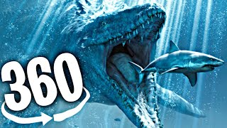 VR 360° Video | SEA MONSTERS ROLLER COASTER | Virtual Reality Experience