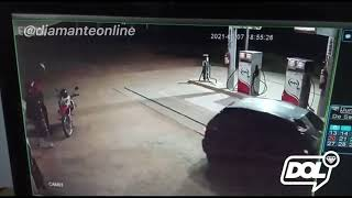 Posto de combustível é assaltado, em São José de Caiana (PB)
