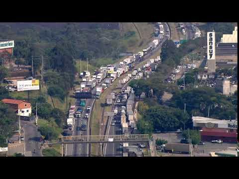 São Lourenço da Serra, na Grande SP, decreta calamidade pública por causa da greve de caminhoneiros