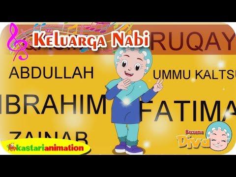Keluarga nabi   lagu anak islami bersama diva   lagu nabi muhammad   kastari animation official
