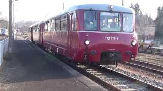 preview picture of video 'DR 172 / DR VT2.09 / BR 772 (DB)- Sonderfahrt v. Greiz - Weischlitz'