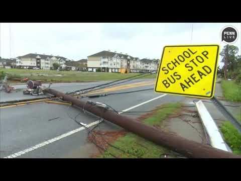 Hurricane Michael leaves damage across Florida Panhandle