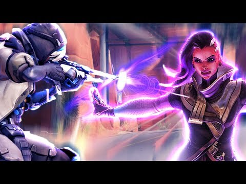THE LUCKIEST SNIPE EVER?? - Overwatch Funny Moments Best Plays 44