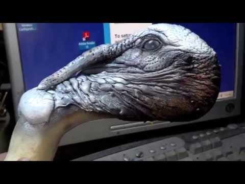 Turkey Head Painting Taxidermy Tutorial