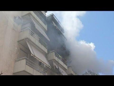 Φωτιά Καλλιμάρμαρο: Πυρκαγιά σε διαμέρισμα