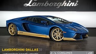 2017 Lamborghini Aventador Miura Homage Blu Notte HLA05679