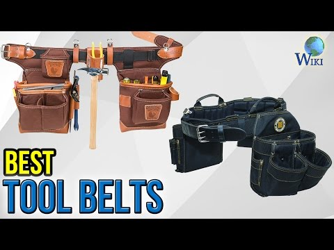 9 Best Tool Belts 2017