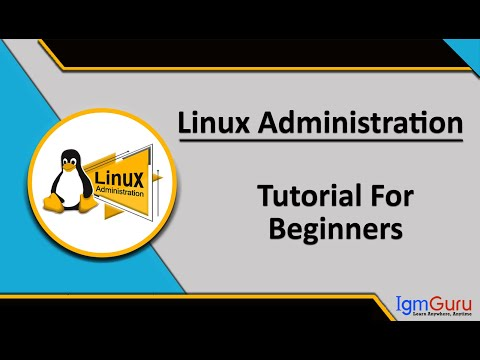 Linux Administration Tutorial For Beginners| Online Red Hat ...