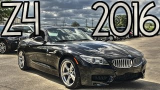 2016 BMW Z4 SDrive35i Full Review, Start Up, Exhaust