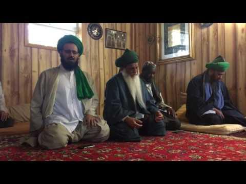 Qasidah at the Maqam of Shaykh Abdullah Ad-Dhagistani in Michigan