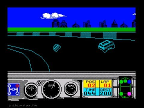 Days of Thunder Walkthrough, ZX Spectrum