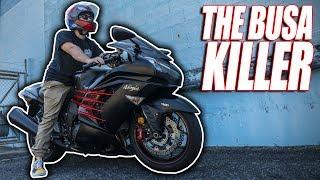 Kawasaki Ninja ZX-14r // The Busa Killer!