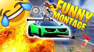 FUNNY MONTAGE - ASPHALT 9-8,GTA 5  (Thug Life,Bugs,Glitches,Best Funny Compilation #1)
