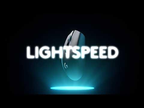 Logitech G305 Lightspeed vezeték nélküli gamer egér, fehér