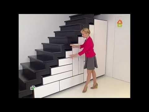 СуперЭлегант лестница на второй этаж, красивый дизайн, встроенный шкаф лестницы, дачный ответ.