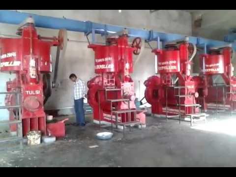 Automatic Oil Expeller Machine