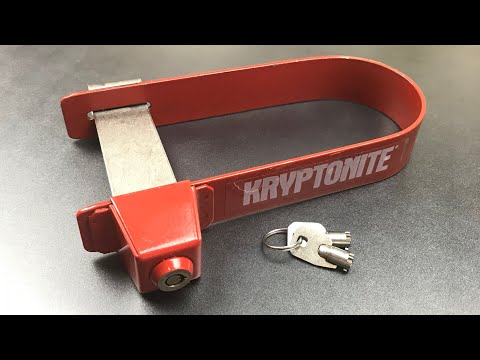 [663] The ORIGINAL Bike U-Lock Picked (Kryptonite K3)