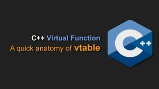 C++ : vtable : Little anatomy of virtual function
