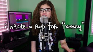 Xanny Cover + RAP   Billie Eilish