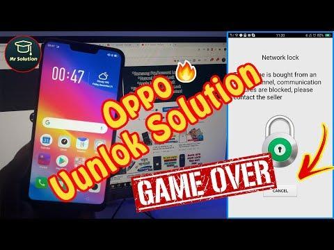 Oppo A3s Network Unlock New Security Diag On AMT Tools - смотреть