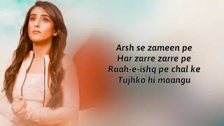 Tumhari Yaad Ayee Hai (Lyrics) Bhavin   - YouTube