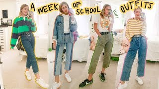 what I ACTUALLY wear to school (outfits of the week)