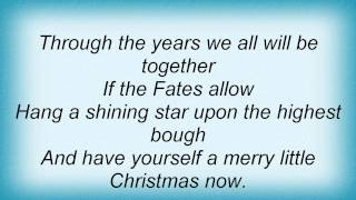 Lee Ann Womack - Have Yourself A Merry Little Christmas Lyrics