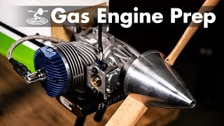 Getting into Gas Planes - Breaking in an Engine - Video Youtube