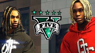 IF KING VON AND LIL DURK WAS IN GTA 5