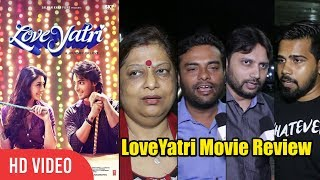 LOVEYATRI Movie Review | Aayush Sharma, Warina Hussain, Salman Khan | Media Review