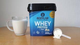 Bodylab24 Whey Protein im Test   Streng genommen kein Whey Proteinkonzentrat
