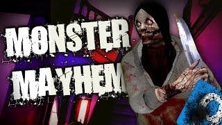 JEFF THE KILLER MONSTER MAYHEM Pt2 - Garry's Mod Horror Gameplay - Gmod Horror