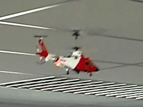 Пробный полёт на р/у вертолёте Syma S111G