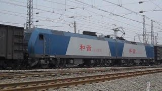 preview picture of video 'HXD2 & HXD1, China Daqin Railway 中国大秦鐵路'