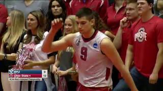 NCAA Men's Volleyball Championship BYU vs Ohio State (May 6, 2017 at Ohio, Columbus)