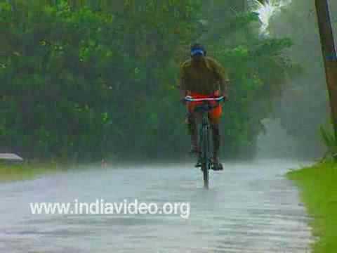Monsoon In Kerala, India