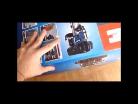 EINHELL BD-BT 401 Säulenbohrmaschine / Tischbohrmaschine / drill press UNBOXING+ASSEMBLING+REVIEW