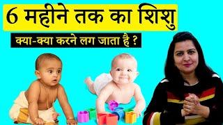 6 महीने के बच्चे क्या क्या करने लग जाता है ?  | 6 Month Baby Development In Hindi |My Baby Care