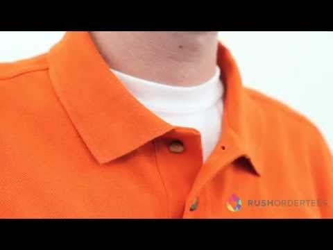 Jerzees 437 | Men's 50/50 Jersey Polo w/SpotShield | RushOrderTees