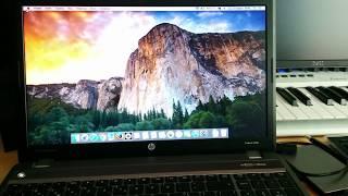 HP ProBook 430 G2 - Hackintosh El Capitan 10 11 4 [Broadwell i5