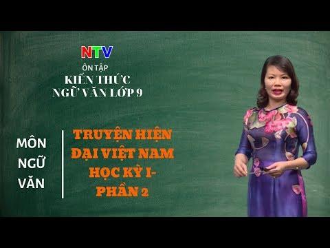 Kiến thức ngữ văn lớp 9 | Chuyên đề: Ôn tập truyện hiện đại Việt Nam- Học kỳ I (Phần 2)