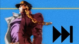 All JoJo openings but every time a JoJo appears it goes 5% faster