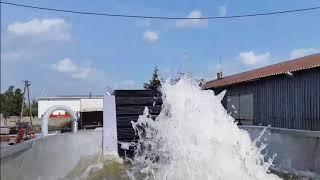 trémie à bain d'eau / jacuzzi / bouillonneur
